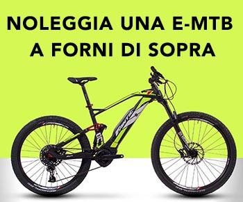 Noleggio E-MTB bici elettriche
